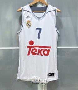 Adidas Luka Doncic Real Madrid Basketball Jersey Fiba Eurobasket Nba Mavs L