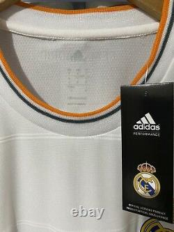 Adidas Real Madri Xabi Alonso Player Issue Home Jersey / Shirt 2013-14 sz L