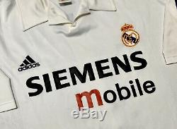 Adidas Real Madrid 02/03 CL Centenary Home Jersey Ronaldo 11. XXL, Great Cond