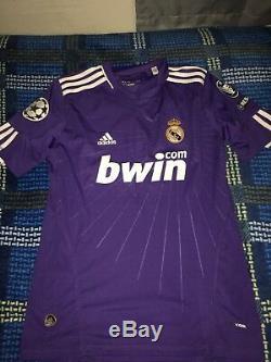 Adidas Real Madrid 10/11 3rd #7 Ronaldo Champions League Soccer Jersey Mens M