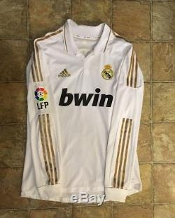 Adidas Real Madrid 11/12 Home Formotion Jersey Match Issued Size L