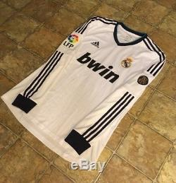 Adidas Real Madrid 12/13 Home Formotion Jersey Player Issue Size L