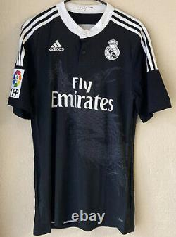 Adidas Real Madrid 14/15 Third Player Issue Soccer Jersey Size 8