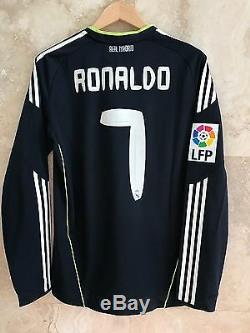 Adidas Real Madrid 2010-2011 Cristiano Ronaldo Formotion LFP player issue jersey