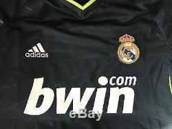 Adidas Real Madrid 2010-2011 Cristiano Ronaldo Formotion LFP player issue jersey