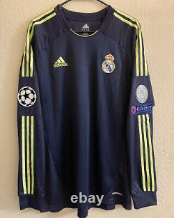 Adidas Real Madrid 2012/2013 Away Formotion Player Issue Soccer Jersey