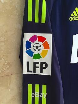 Adidas Real Madrid 2012-2013 Mesut Ozil Formotion LFP Player Issue LS jersey