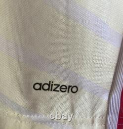 Adidas Real Madrid 2014/2015 Home Player Issue Soccer Jersey Size 8