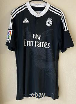 Adidas Real Madrid 2014/2015 Third Player Issue Soccer Jersey