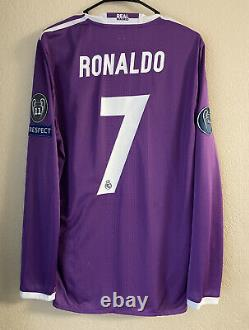 Adidas Real Madrid 2016/2017 Player Issue Away Soccer Jersey