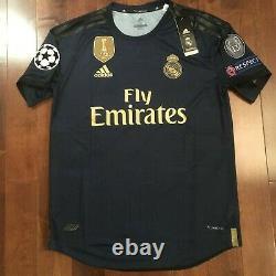 Adidas Real Madrid 2019/20 Away #18 Luka Jovic Jersey Champions League Version