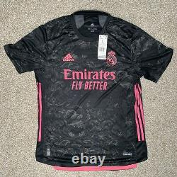 Adidas Real Madrid 20/21 3rd Jersey Authentic Mens Sz Large GE0932
