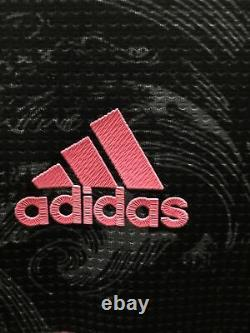 Adidas Real Madrid 3rd Authentic Kit 20-21 jersey Black Pink Size M Mens Only