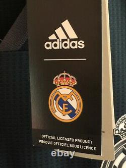 Adidas Real Madrid Away 2018-19 LS jersey Black Dark Green Size S Mens Only
