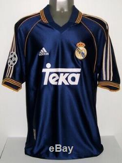 Adidas Real Madrid Away Champions 1999 Raul Original Jersey Shirt