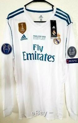 Adidas Real Madrid Bale adizero UCL jersey Liverpool player issue match prepared
