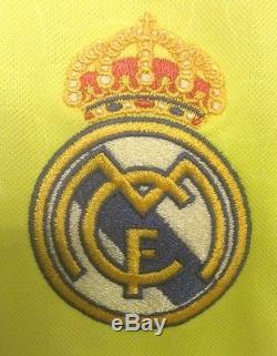 Adidas Real Madrid CF Jersey Soccer Football 2006 Iker Casillas # 1 Men's S New
