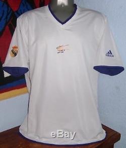 Adidas Real Madrid Centenario Reversible Figo Zidane Original Jersey Shirt