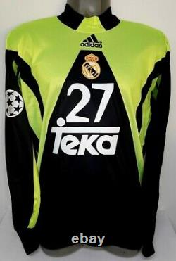Adidas Real Madrid Champions 1999 Casillas Debut S Ls Gk Original Jersey Shirt