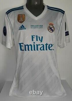 Adidas Real Madrid Champions Final 2018 Ronaldo L Original Jersey Shirt