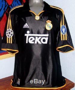 Adidas Real Madrid Champions League 2000 Away Raul Original Jersey Shirt