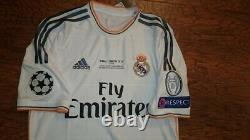 Adidas Real Madrid Champions League Final 2014 Ronaldo M Original Shirt Jersey