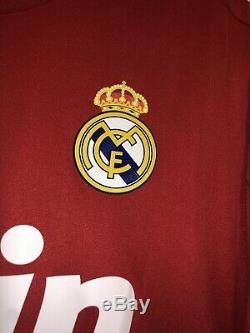 Adidas Real Madrid Champions League Jersey Trikot Maillot L Ronaldo Rare