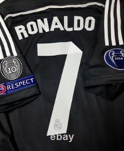 Adidas Real Madrid Champions League Ronaldo 2015 XL 3rd Original Jersey Shirt