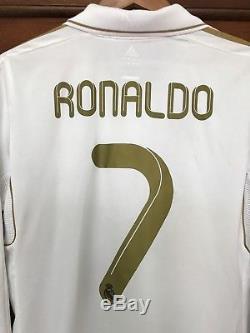 Adidas Real Madrid Cristiano Ronaldo 2011-2012 LFP jersey size M