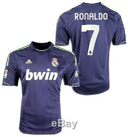 Adidas Real Madrid Cristiano Ronaldo Away Jersey 2012/13