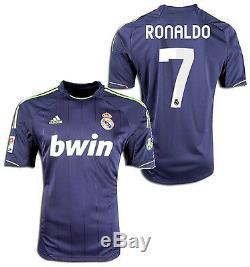 Adidas Real Madrid Cristiano Ronaldo Away Jersey 2012/13