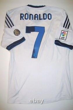 Adidas Real Madrid Cristiano Ronaldo Kit Jersey 2012 Manchester United/Portugal