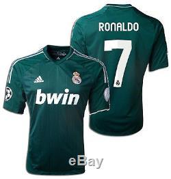 Adidas Real Madrid Cristiano Ronaldo Uefa Champions League Third Jersey 2012/13