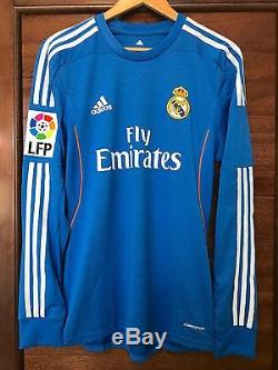9b52a694c36 Adidas Real Madrid Gareth Bale 2013-2014 Formotion LFP Player Issue jersey