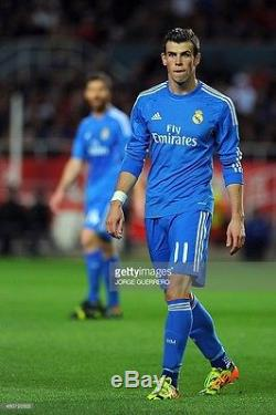 Adidas Real Madrid Gareth Bale 2013-2014 Formotion LFP Player Issue jersey