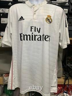 Adidas Real Madrid Home Jersey 14/15 Cristiano Ronaldo #7 Size Large Only CR7