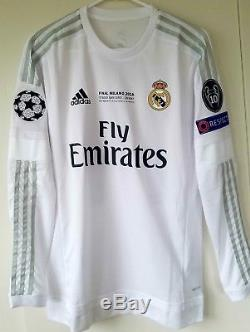 Adidas Real Madrid Home Jersey 15/16 (Player Issue / Adizero)