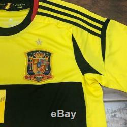 Adidas Real Madrid Iker Casillas #1 Goal Keeper Jersey Size M
