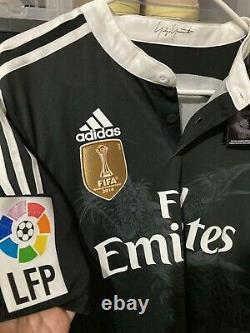 Adidas Real Madrid Isco Third UCL Jersey / Shirt 2014-15 sz L BNWT