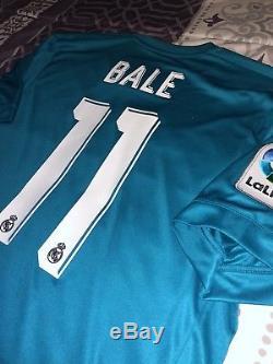 Adidas Real Madrid Jersey, #11 Gareth Bale, Large, Nwt