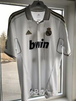 Adidas Real Madrid Jersey 2011-12 La Liga Marcelo Vieira Size M Brazil National