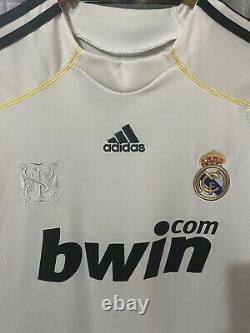 Adidas Real Madrid Kaka Home Jersey / Shirt 2009-10 sz L