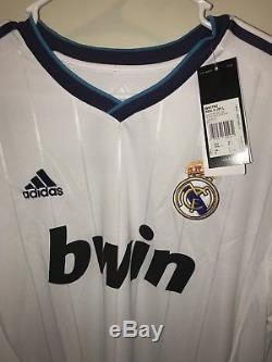 Adidas Real Madrid Long Sleeve 2012/2013 Trikot Maillot Jersey Size Large Özil