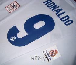 Adidas Real Madrid Ls Long Charity Heart Match 17 Ronaldo Original Jersey Shirt
