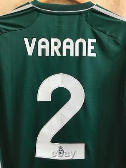 Adidas Real Madrid Raphael Varane 2012-2013 Formotion LFP Player Issue jersey
