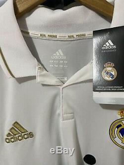 Adidas Real Madrid Ronaldo Home Jersey / Shirt 2011-12 sz L Long Sleeve BNWT