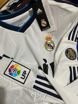 Adidas Real Madrid Ronaldo Home Jersey / Shirt 2012-13 sz L Long Sleeve BNWT