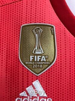 Adidas Real Madrid Stadium Third Soccer Jersey Champions Patches Sise Medium