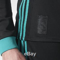 Adidas Ronaldo Real Madrid Uefa Champions League Long Sleeve Away Jersey 2017/18