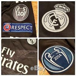 Adidas Y3 Yohji Yamamoto Dragon Real Madrid FIFA 2014 Modric Soccer Jersey, Sz 8